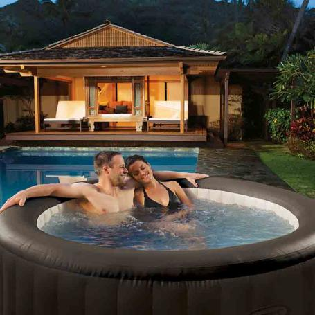 joyaux piscines maroc spa gonflable intex purespa rond jets 4 places. Black Bedroom Furniture Sets. Home Design Ideas